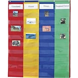 2 & 4 Column Double-Sided Pocket Charts