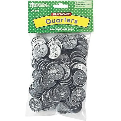 Learning Resources Money, Learning Resources Quarters Pack of 100