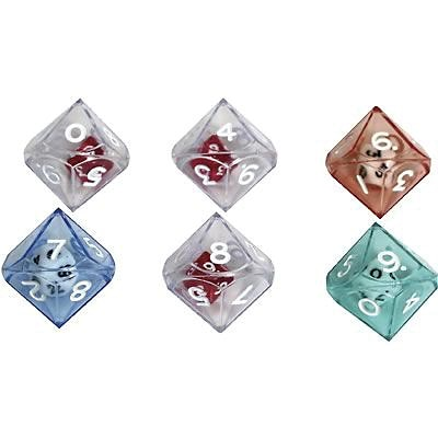 Koplow Games Dice,Dice, 10-Sided Double Dice