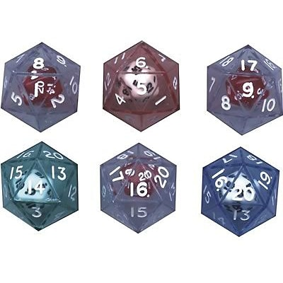 Koplow Games Dice, 20-Sided Double Dice