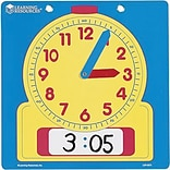 Learning Resources® 12 Write-On/Wipe-Off Demonstration Clock, Grades Toddler - 2nd
