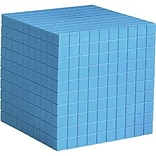 Base Ten & Place Value, Learning Resources® Plastic Base Ten Components Blue Cube
