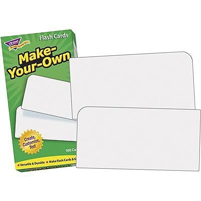 Flash Cards, Trend® Make Your Own Skill Drill Flash Cards