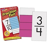 Trend® Fraction Fun Skill Drill Flash Cards