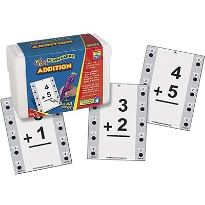 Educational Insights® Hot Dots Math Flash Cards, Addition