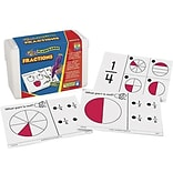 Hot Dots Math Flash Cards; Fractions