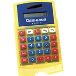 Basic Student Calc-U-Vue® Calculator, Handheld, 5H x 3 1/4W, 2 EA/BD