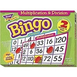 Trend Multiplication & Division Bingo Games