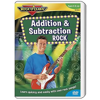 Rock N Learn® DVD Programs, Addition & Subtraction Rock