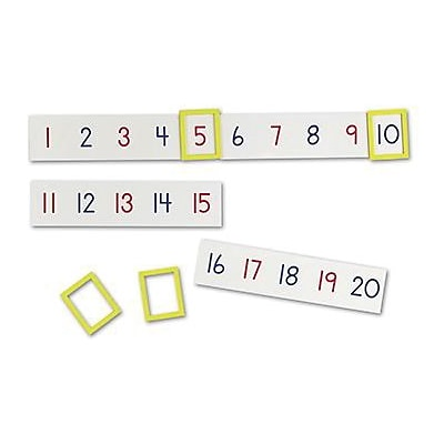 Learning Resources® Magnetic Number Line