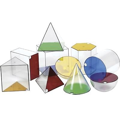Learning Resources® Giant Geosolids, Set Of 10