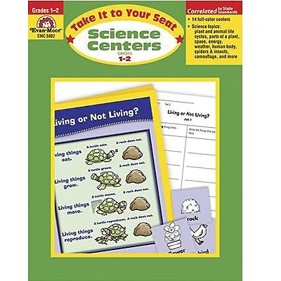 Evan-Moor® Take It To Your Seat Science Centers, GR: 1-2