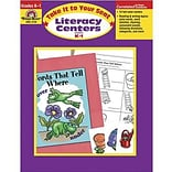 Evan-Moor® Literacy Centers For Grade K-1