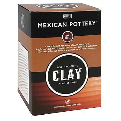 AMACO® Modeling Compounds, Mexican Pottery Clay™, 25lbs.
