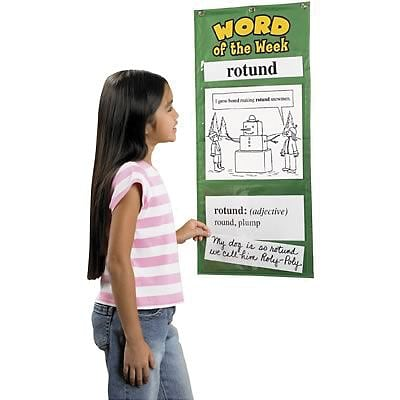 Educational Insights® Word of the Week Charts, Grade 3-4