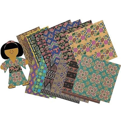 Roylco® Craft Papers, Global Village