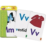 Alphabet & Picture Words Pocket Flash Cards