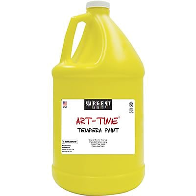 Sargent Art® Art-Time® Gallon Washable Tempera Paints, Yellow