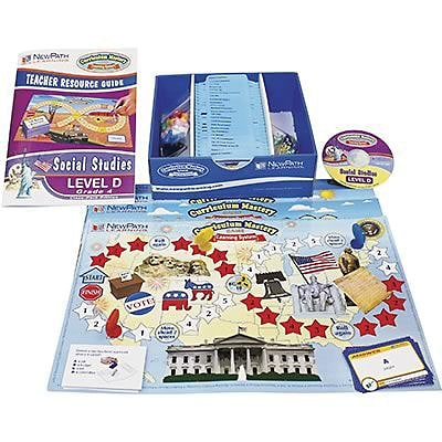 New Path Learning® Mastering Social Studies Skills Games, Grade 4