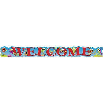 Trend® Quotable Expressions® Banners, Welcome Frogs