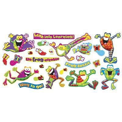 Trend® Mini Bulletin Board Sets, Frogs