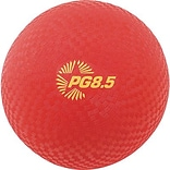 Playground Ball, 8-1/2, Red