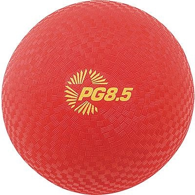 Champion Sports Rhino Playground Ball, 8.5, Red (CHSPG85RD)