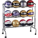 Champion Sports® Portable Ball Rack, 3 Tier