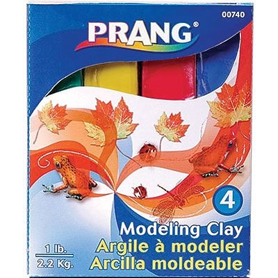 Prang® Modeling Clay, Assorted
