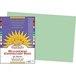 Sunworks 12x18 Light Green Construction Paper