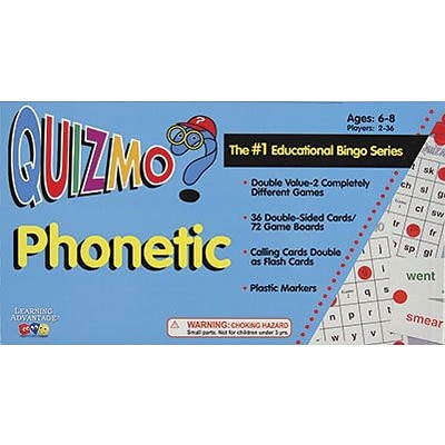 Quizmo®, Phonetic
