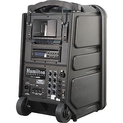 Hamilton™ Audio Visual, 100-Watt Portable Public Address System