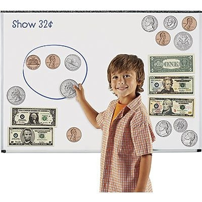 Double-Sided Magnetic Money, Set of 45