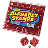 Lowercase Alphabet Stamp Sets