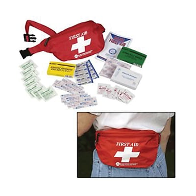 PhysiciansCare® First Aid Fanny Pack, 49 Pieces