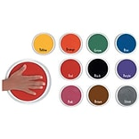 Jumbo Circular Washable Ink Pad; 10/Set