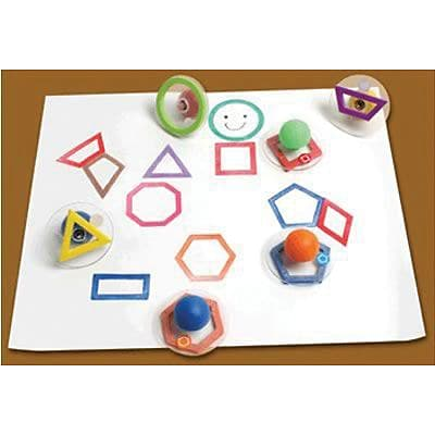 Ready2Learn™ Giant Stampers, Outline Geometric Shapes, 10/pkg