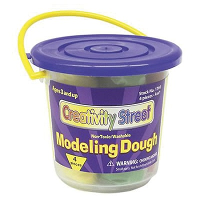 Modeling Dough, 4 colors