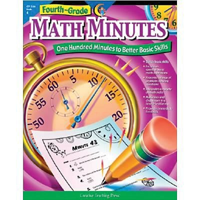 Fourth-Grade Math Minutes Resource Book