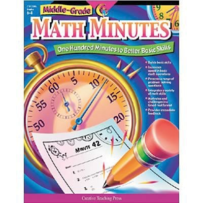 Middle-Grade Math Minutes Resource Book