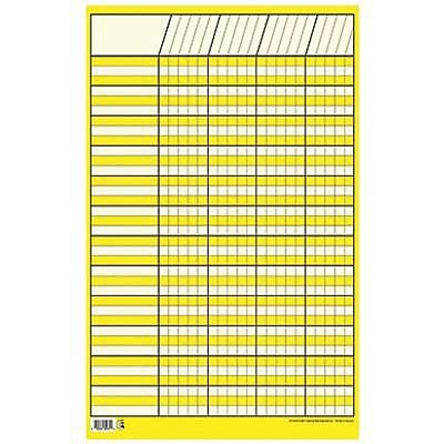 Creative Teaching Press™ Incentive Charts, Small Vertical, Yellow