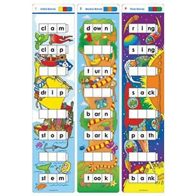 Unifix Word Ladders: Blends