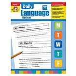 Evan-Moor® Daily Language Review Teachers Edition Book, Grades 7th