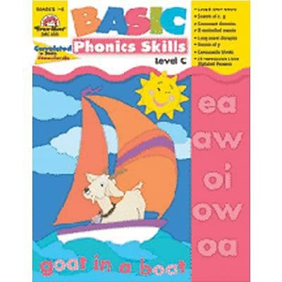Basic Phonics Skills, Level C