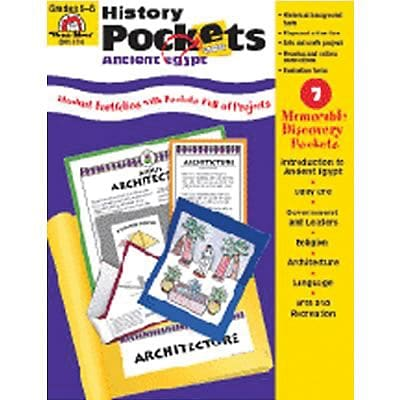 History Pockets, Ancient Egypt