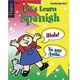 Hayes Lets Learn Spanish Workbook, Grades Kindergarten