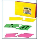 Structure Cards, Assorted Colors, 3x5