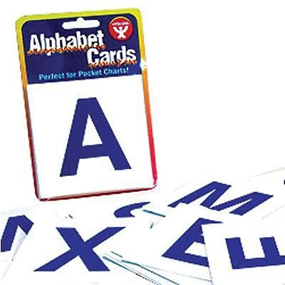 Alphabet Cards, A-Z Upper Case Letters