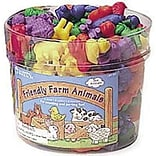Friendly Farm® Animals Counters 144/pk