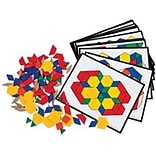 Pattern Block Activity Pack, 36 Cards